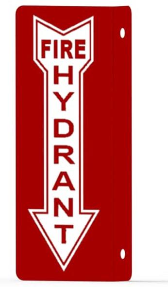 FIRE Hydrant Arrow Down Projection Sign-FIRE Hydrant Arrow Down Hallway