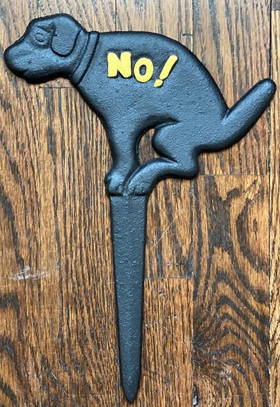 No Pooping Yard Sign-No Dog Pooping Sign