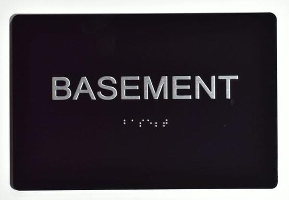 BASEMENT SIGN - (Aluminium ADA