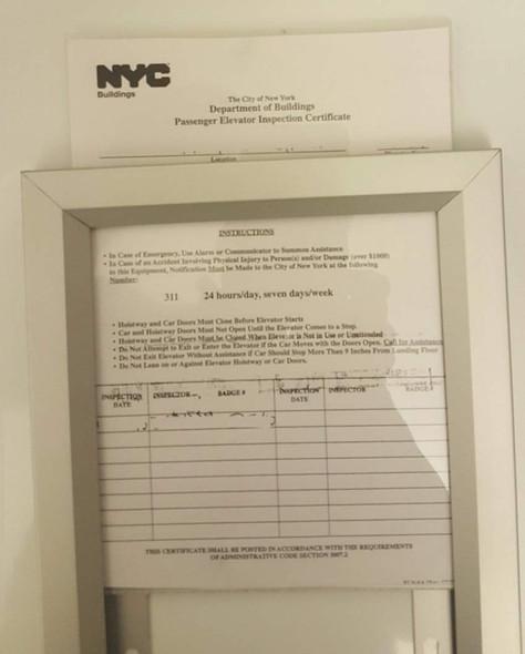 SIGNS HPD FRAME - NYC (HPD FRAMES