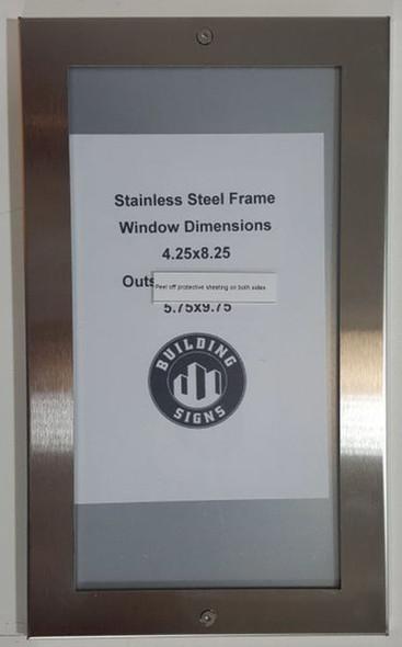 Directory Board- FRAME STAINLESS STEEL (BOARD