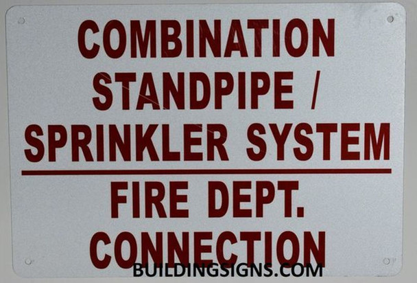 Combination Standpipe and Sprinkler System FIRE