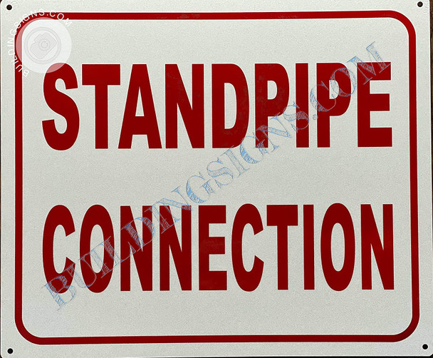 Sign Standpipe Connection