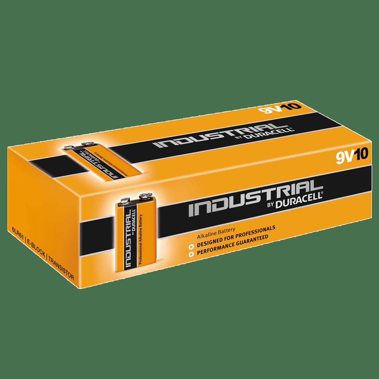 1x Varta Industrial 9V E-Block 6LR61 MN1604 6LP3146 6AM6 6LR61 Transistor Bulk
