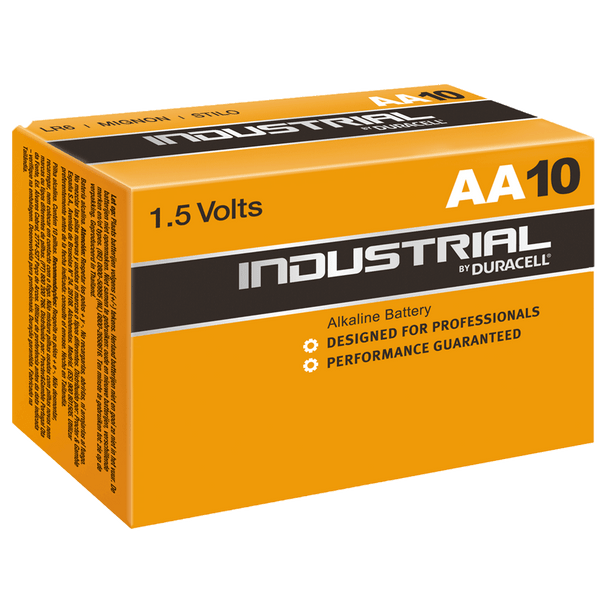 Industrial By Duracell (Procell) AA LR6 ID1500 Batteries | Box of 10