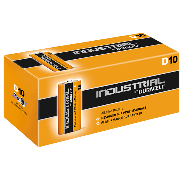 Industrial By Duracell (Procell) D LR20 ID1300 Batteries | Box of 10