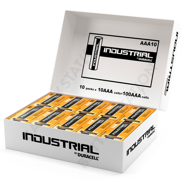 Industrial By Duracell (Procell) AAA LR03 ID2400 Batteries | Box of 100