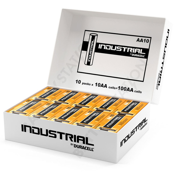 Industrial By Duracell (Procell) AA LR6 ID1500 Batteries | Box of 100