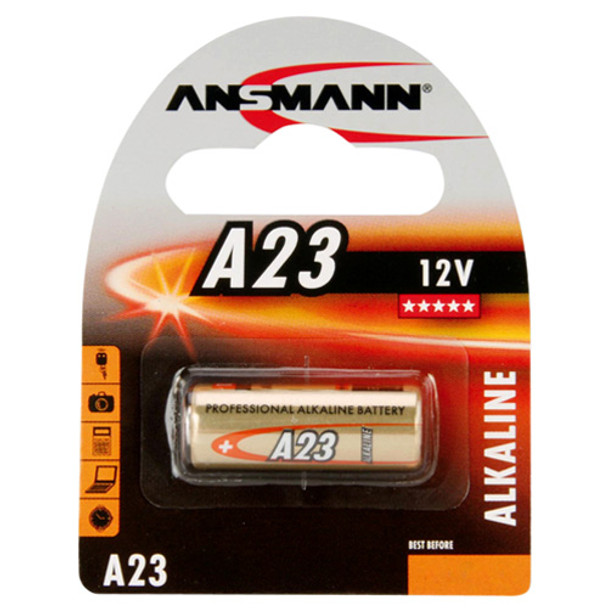 Ansmann A23 12V Alkaline Battery | 1 Pack