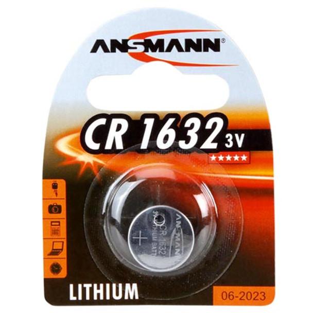Ansmann CR1632 Lithium Coin Cell | 1 Pack