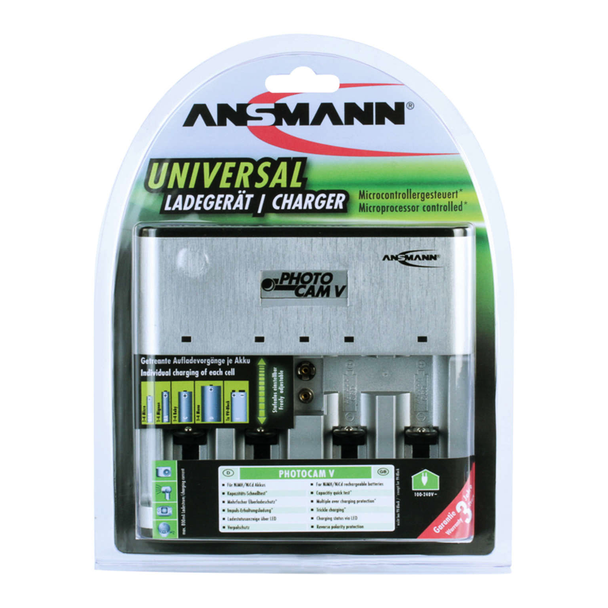 Ansmann PC V Battery Charger