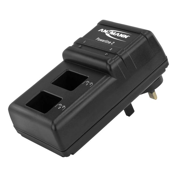 Ansmann Powerline 2 Battery Charger for 9V PP3 Batteries
