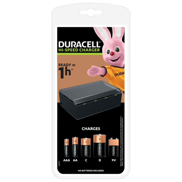 Duracell Hi-Speed Multi Charger CEF22
