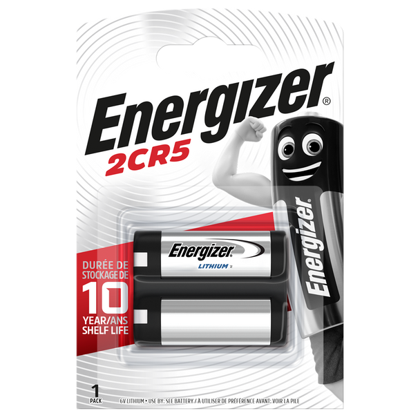 Energizer 245 2CR5 Lithium Camera Battery   1 Pack