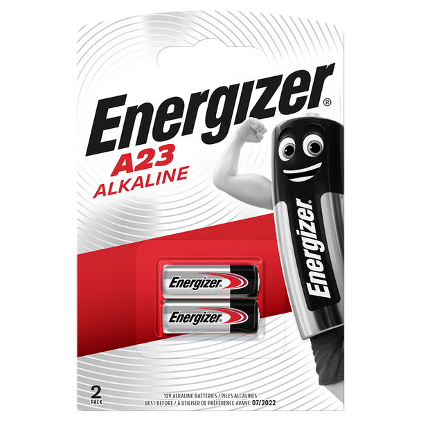 Energizer A23 MN21 LRV08 Batteries | 2 Pack