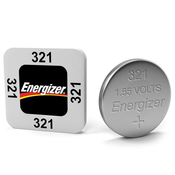 Energizer 321 SR616 SR616SW Watch Battery | 1 Pack