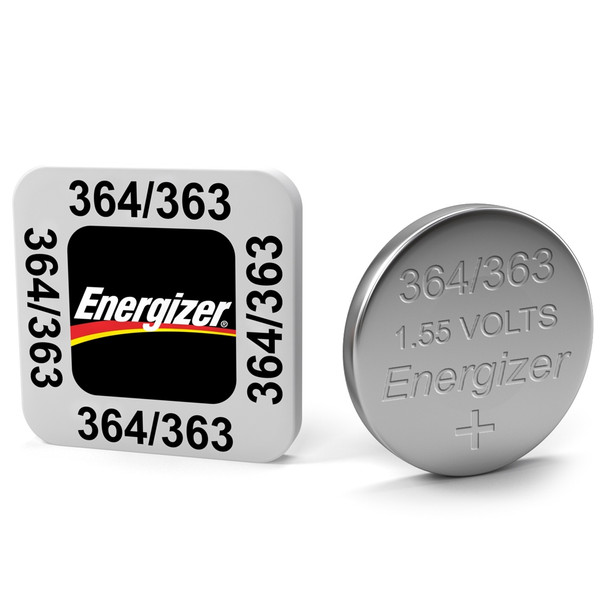 Energizer 364 / 363 AG1 SR621SW Watch Battery | 1 Pack