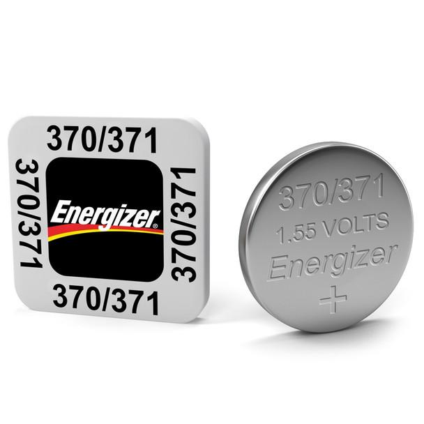 Energizer 371/370 AG6 SR920SW Watch Battery   1 Pack
