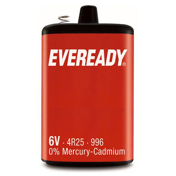 Eveready PJ996 4R25 6V Lantern Battery | 1 Pack