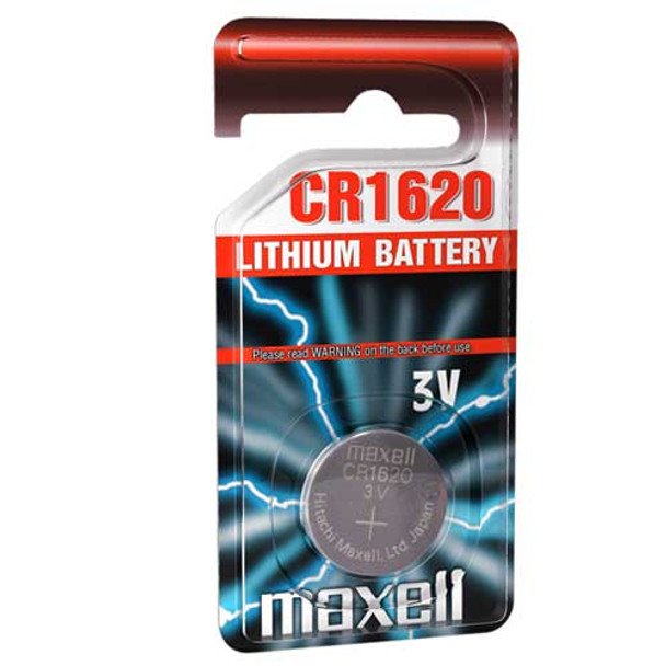 Maxell CR1620 Coin Cell Battery | 1 Pack