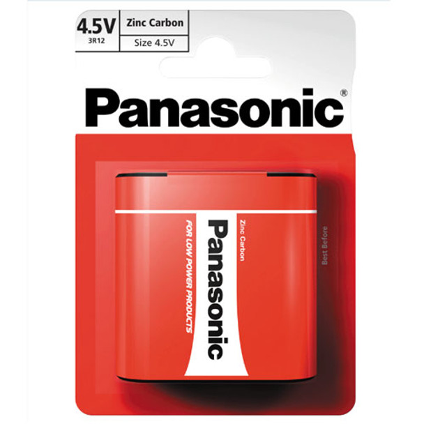 Panasonic Zinc 3LR12 4.5V Battery | 1 Pack