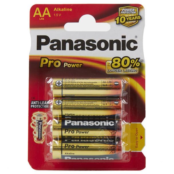 Panasonic Pro Power AA LR6 Batteries | 4 Pack