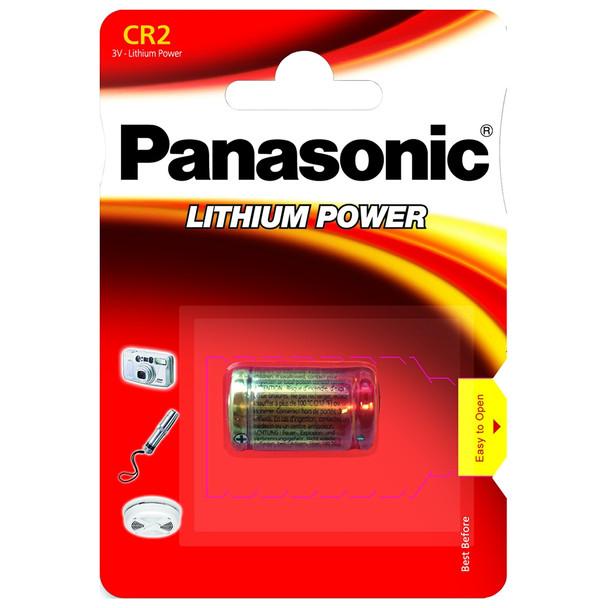 Panasonic CR2 Lithium Photo Battery | 1 Pack