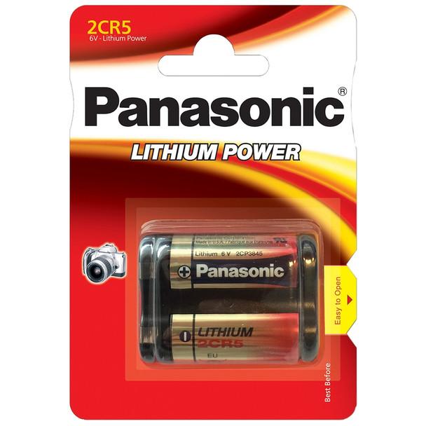 Panasonic 2CR5M 245 Lithium Photo Battery | 1 Pack