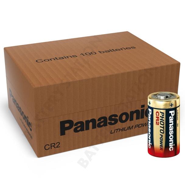 Panasonic CR2 Lithium Photo Battery | 100 Pack