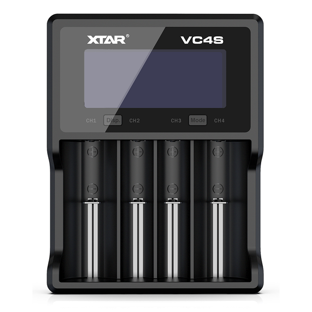Xtar VC4S USB Battery Charger for Li-Ion and NiMH Batteries