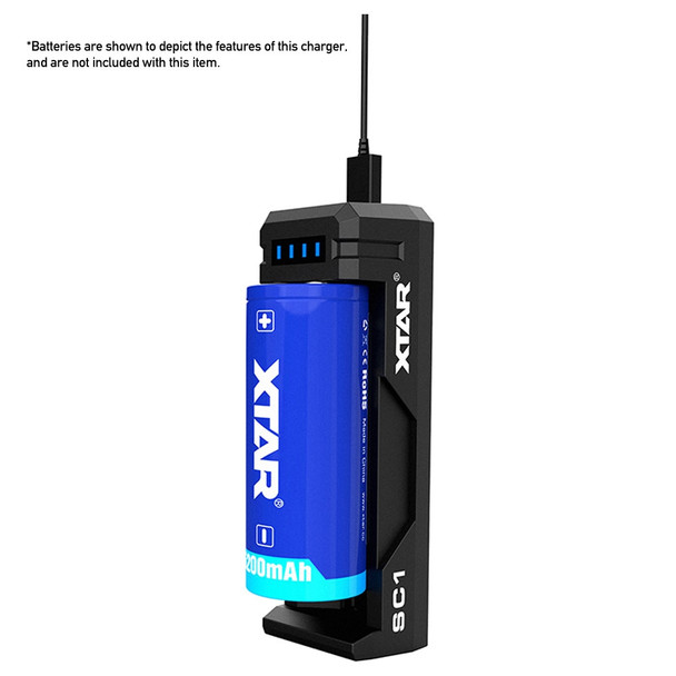 Xtar SC1 Fast Charger for Li-ion Batteries