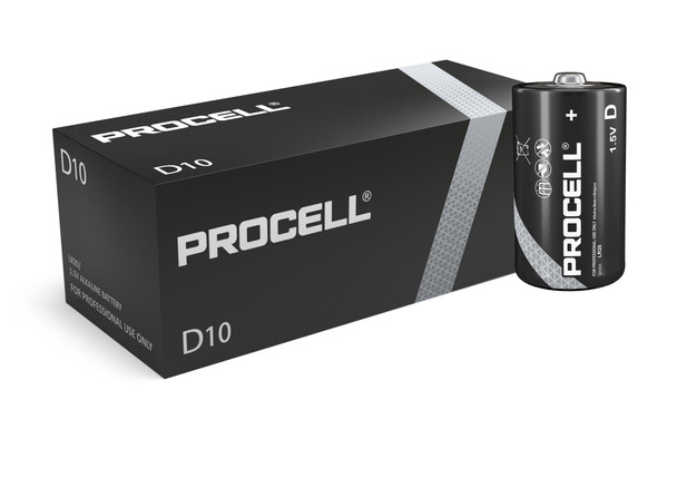 Duracell Procell D LR20 ID1300 Batteries | Box of 10
