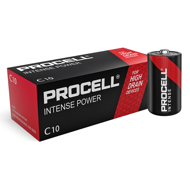 Duracell Procell Intense Power C LR14 PX1400 Batteries   Box of 10