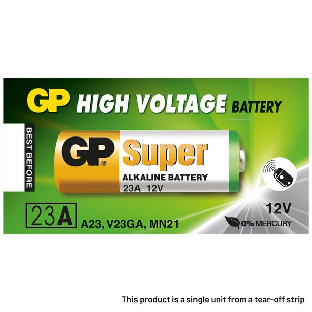 GP 23A A23 MN21 Batteries   1 Pack