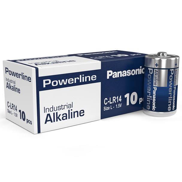 Panasonic Powerline C LR14AD Industrial Batteries | Box of 10