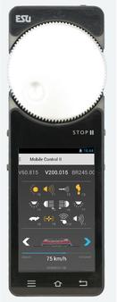 ESU 50114 Mobile Control II Remote Control single Handset for ECoS,