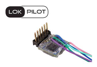 ESU 59837 LokPilot 5 micro DCC/MM/SX 6 PIN DIRECT