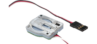 ESU 51806Linear Servo, movement 4.5 mm, with microcontroller, 30cm wire,with fittings accessories