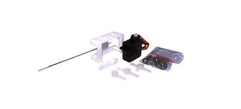 ESU 51804Servo Motor, precision mini-servo, micro-controlled with plastic gearing, incl. mounting kit
