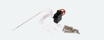ESU 51805Servo Motor, precision mini-servo, micro-controlled with metal gearing, incl. mounting kit