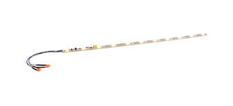 """ESU 50700LED lighting strip with taillight, 255mm, 11 LEDs, """"warm-white""""."""