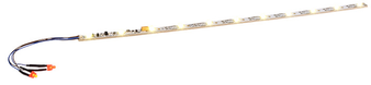 """ESU 50708Digital LED lighting strip with integrated Digital decoder and taillight, 255mm, 11 LEDs, """"warm-white"""""""