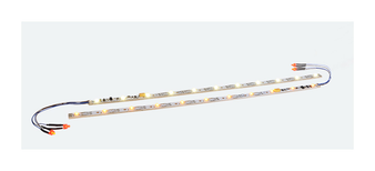"""ESU 50709Digital LED lighting strip with integrated Digital decoder and taillight, 255mm, 11 LEDs, """"yellow"""""""