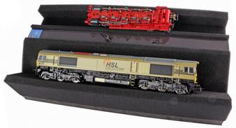 ESU 41010Premium Foam Train Service Tray, 328x 166 x 68 mm. With magnetic storage recess