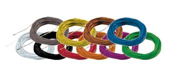ESU 51940 Super thin cable 10m , white colour
