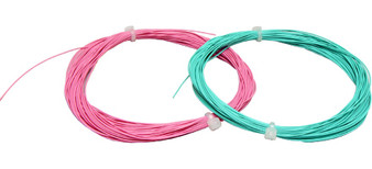 ESU 53911 Highly flexible cable, turquoise color