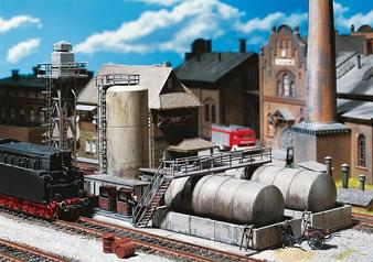 FALLER 120157 Diesel fuel facility (HO)