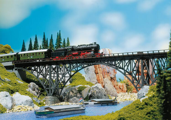 FALLER 120541 Deck arch bridge (HO)