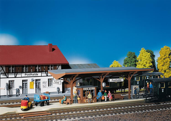 FALLER 120189 Covered platform (HO)