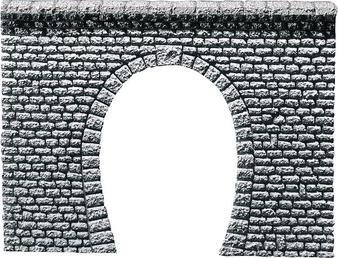FALLER  170880 Decorative sheet tunnel portal Pros, Natural stone ashlars (HO)